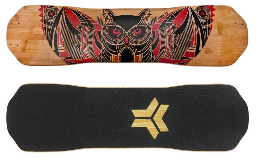 Freebord Decks - Owl Bamboo deck