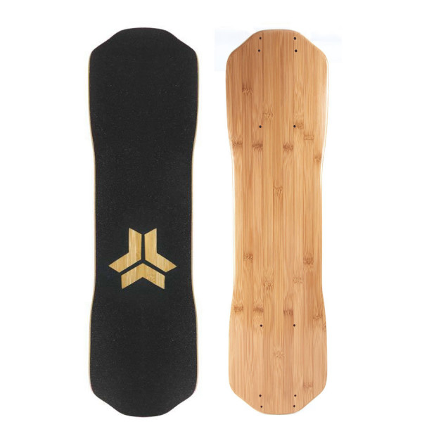 Freebord Blank Canvas Bamboo Deck