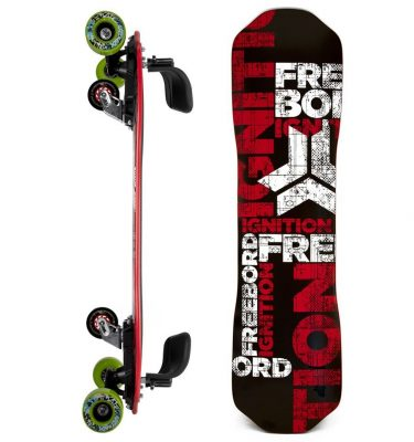 FREEBORD IGNITION MAPLE COMPLETE GREENGO Edge wheels