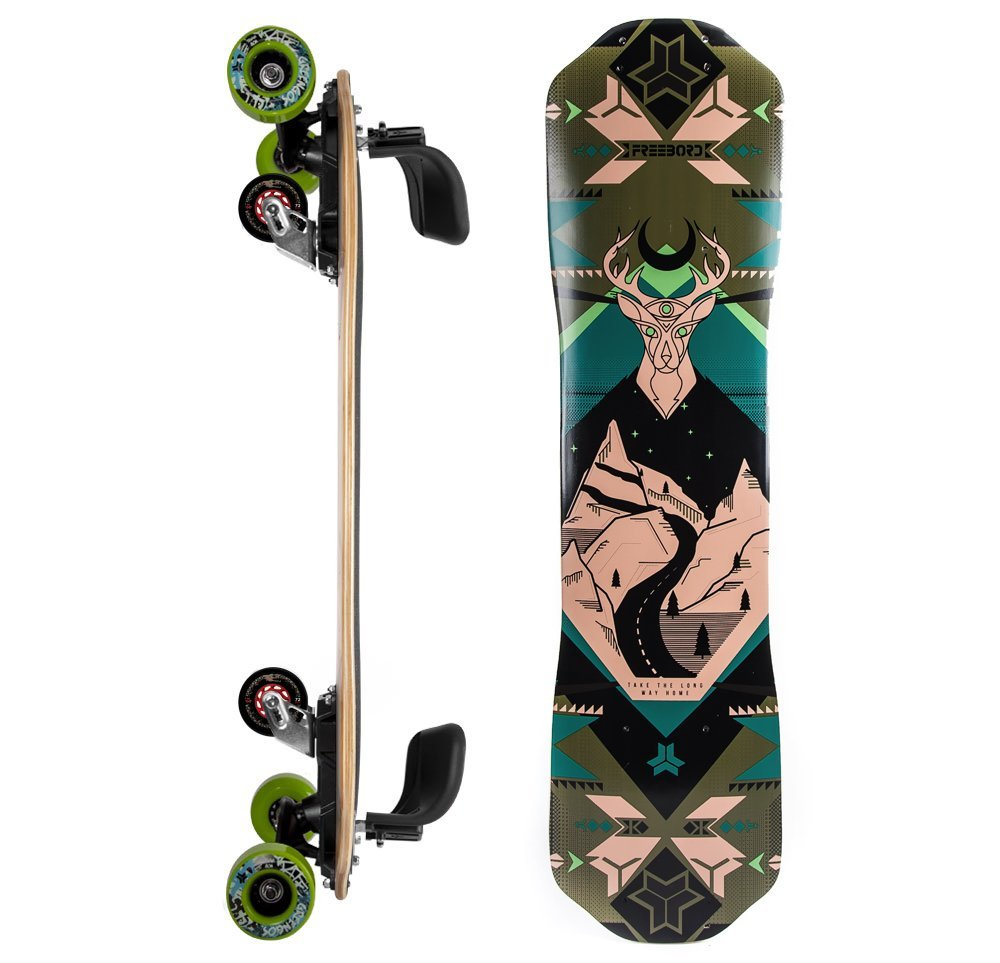 Freebord Maple Complete The Mountaineer Greengos Boros