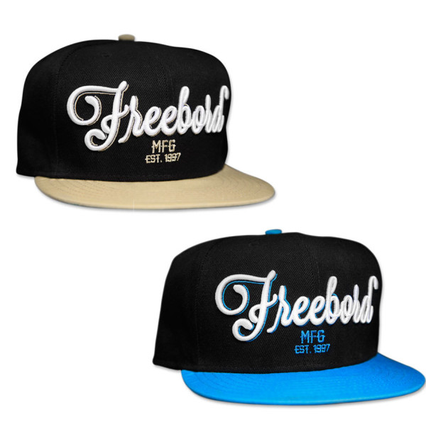 Freebord SNAPBACK Hats & Caps Sand and Blue Colours