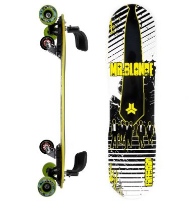 FREEBORD MR BLONDE MAPLE COMPLETE GREENGO edge wheels