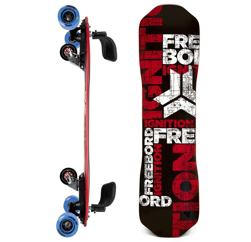 Freebord Maple Complete SideProfile Boro Ignition