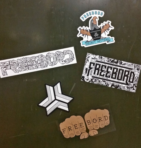 Freebord NEW STICKER PACK 2015