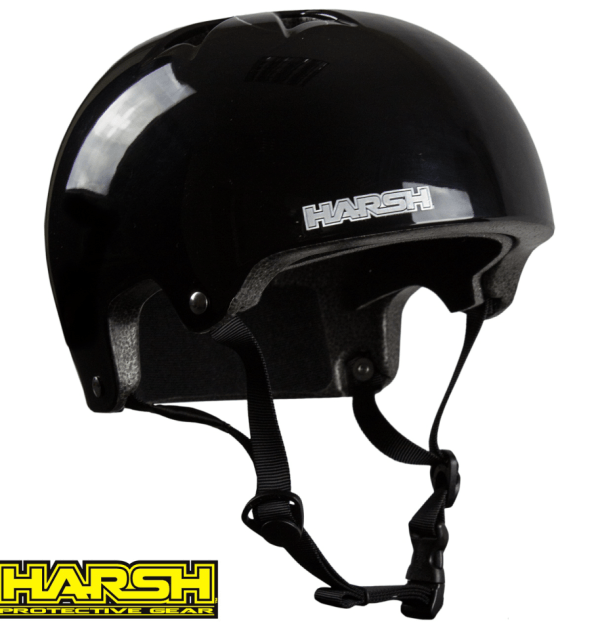 Harsh HX1 ESP PRO helmet black gloss