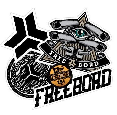 freebord sticker pack