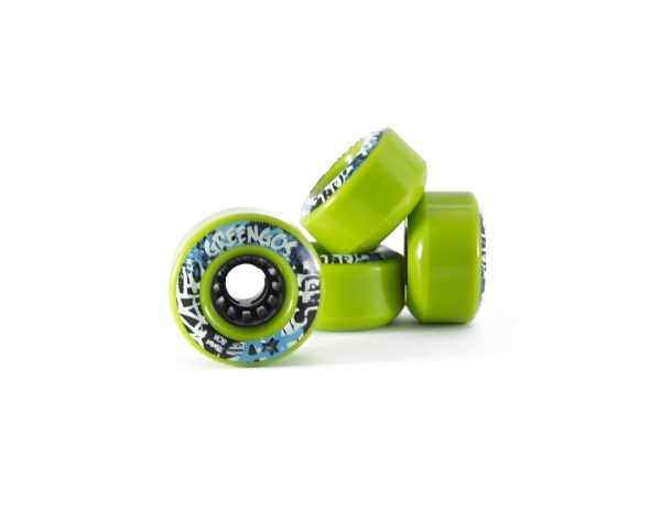 Freebord greengo edge wheels Set Of 4