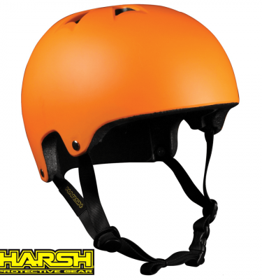 Harsh HX1 ESP PRO orange helmet