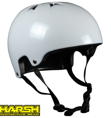 Harsh HX1 ESP PRO pearl white Gloss helmet