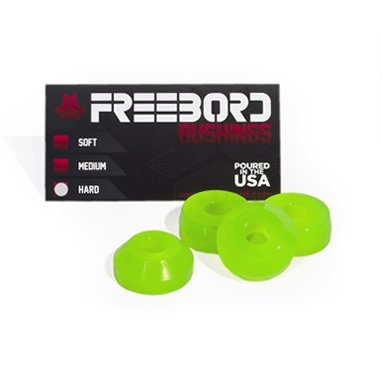 Freebord upgrade bushings hard Neon Green
