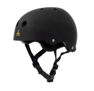 Freebord Triple 8 helmet black brainsaver