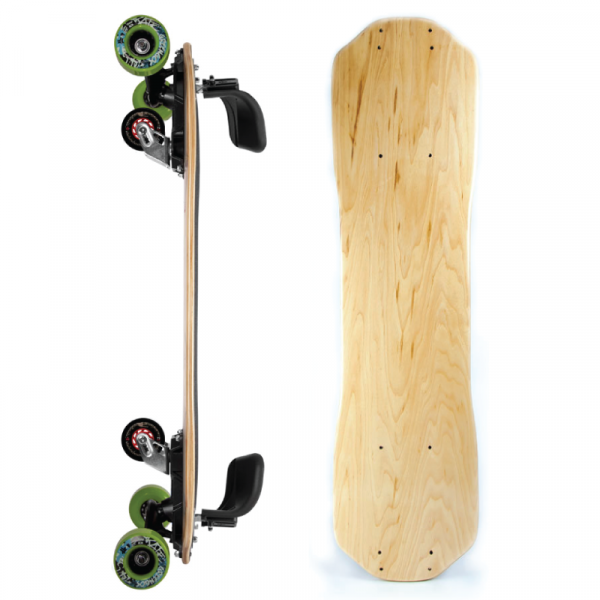 Freebord Blank Canvas Maple Complete Greengo - UK Sale Shrewsbury